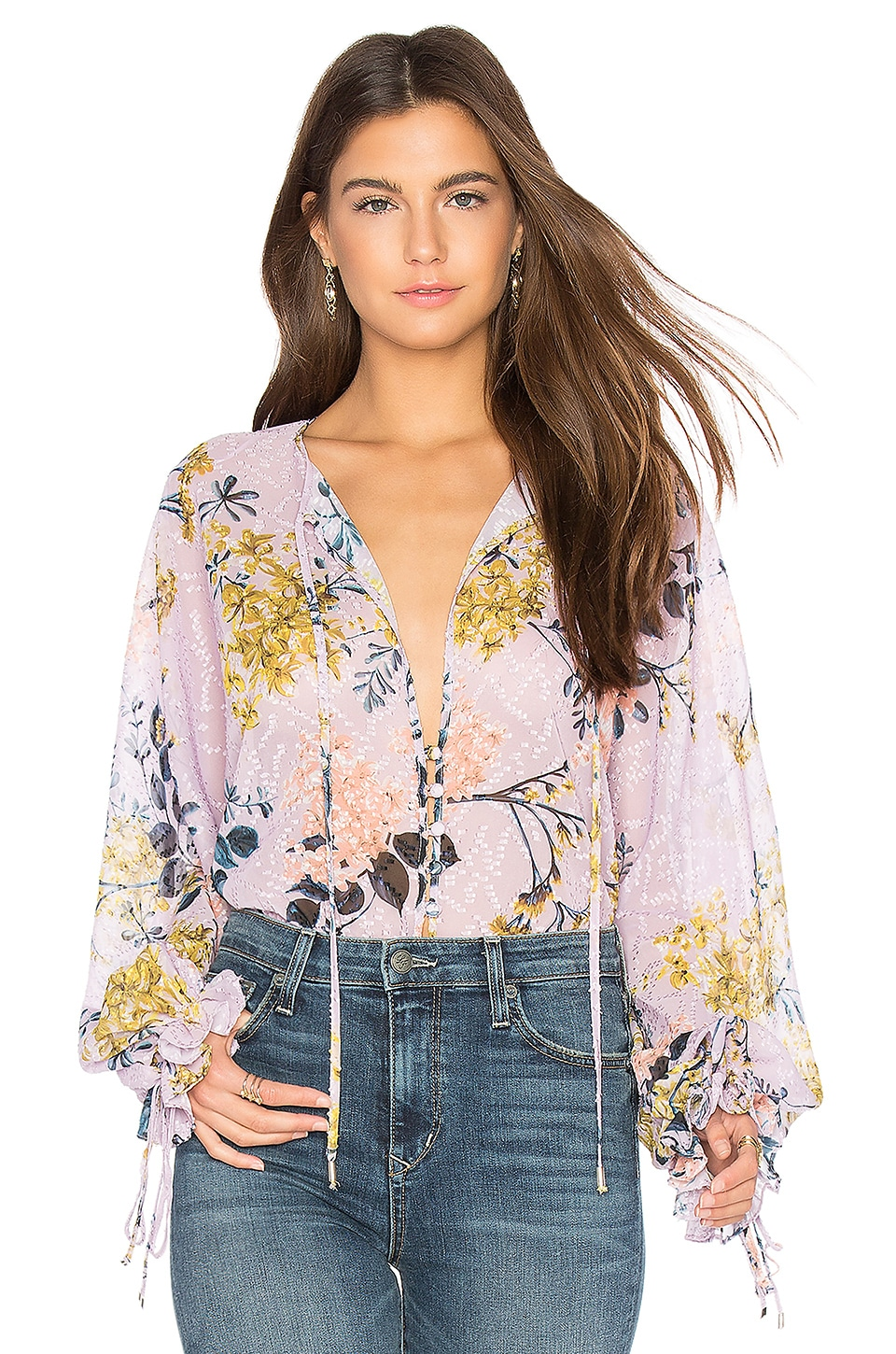 We Are Kindred Blossom Blouse en Wysteria