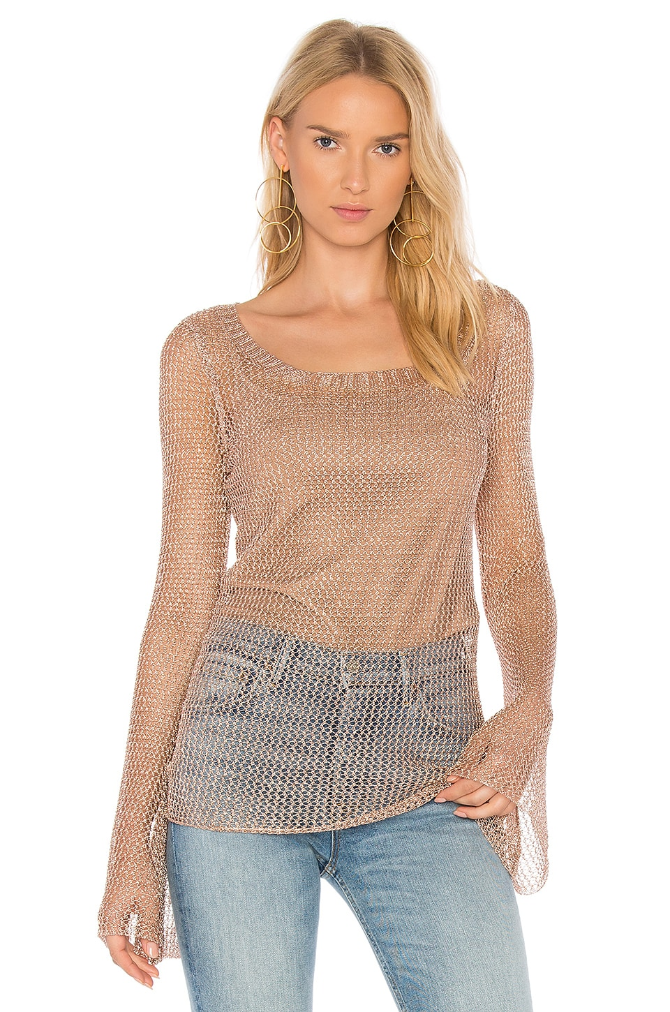 Magnolia Bell Sleeve Top by We Are Kindred