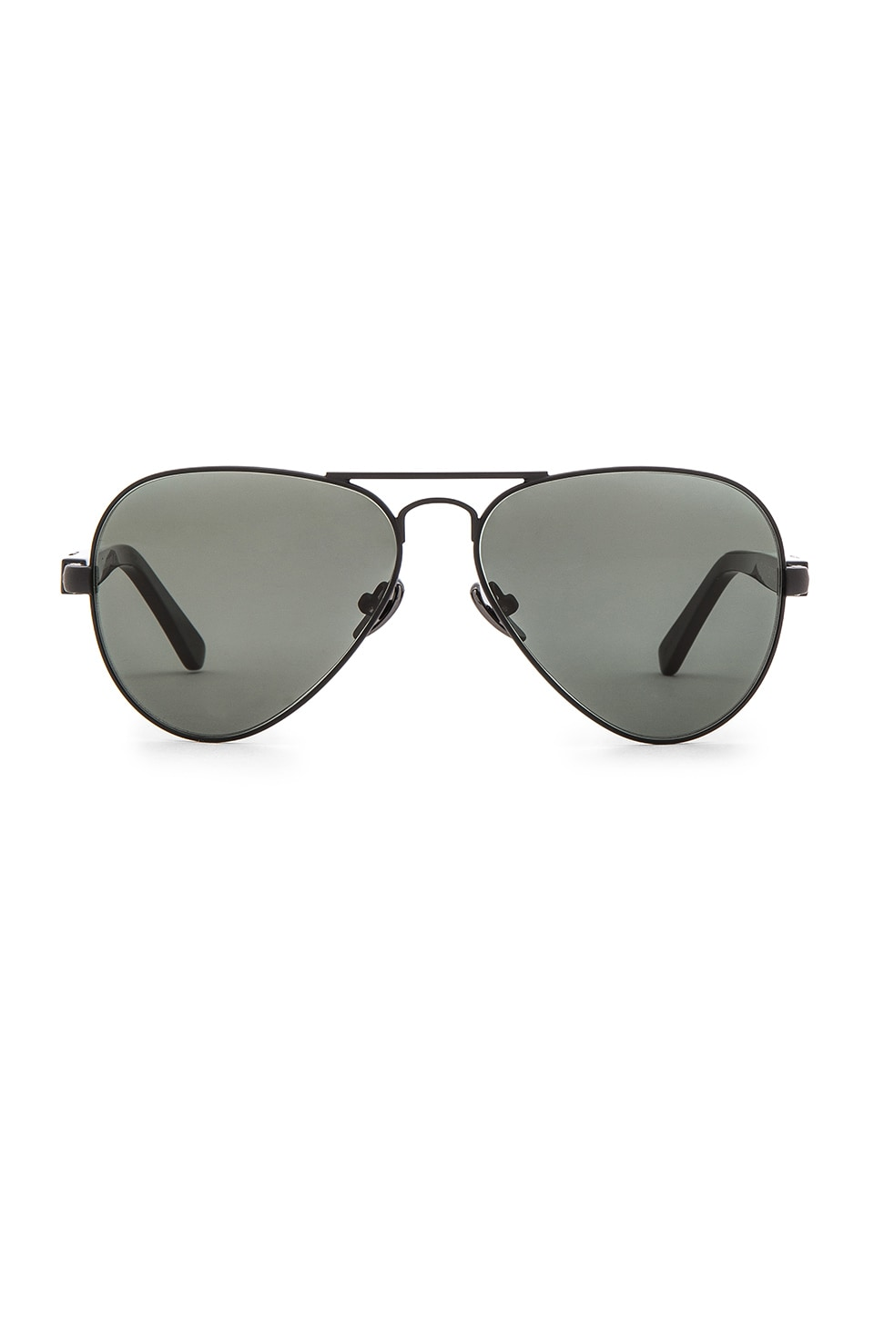 WESTWARD LEANING Concorde 1 Sunglasses in Black Shiny