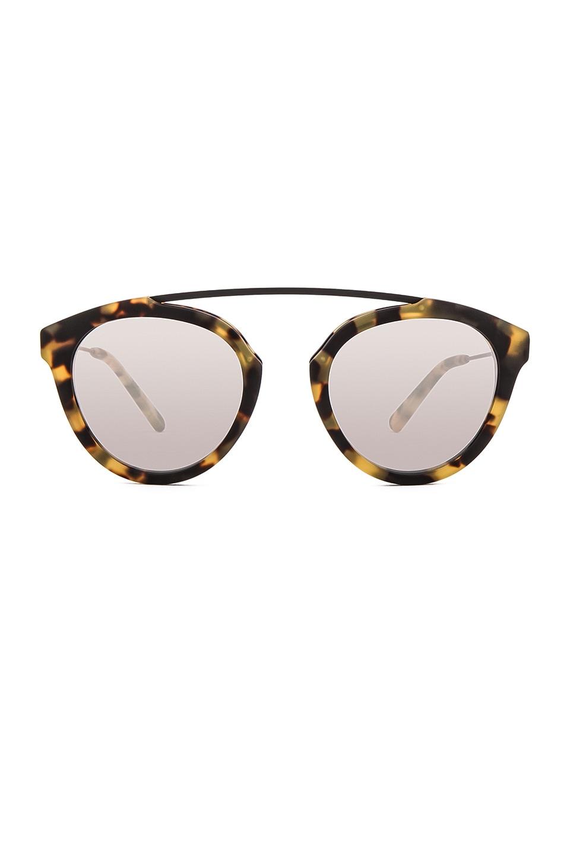 WESTWARD LEANING Flower 1 Sunglasses in Sand Tortoise Matte