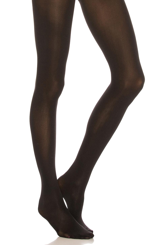 Wolford Velvet de Luxe 66 Comfort Tights in Black