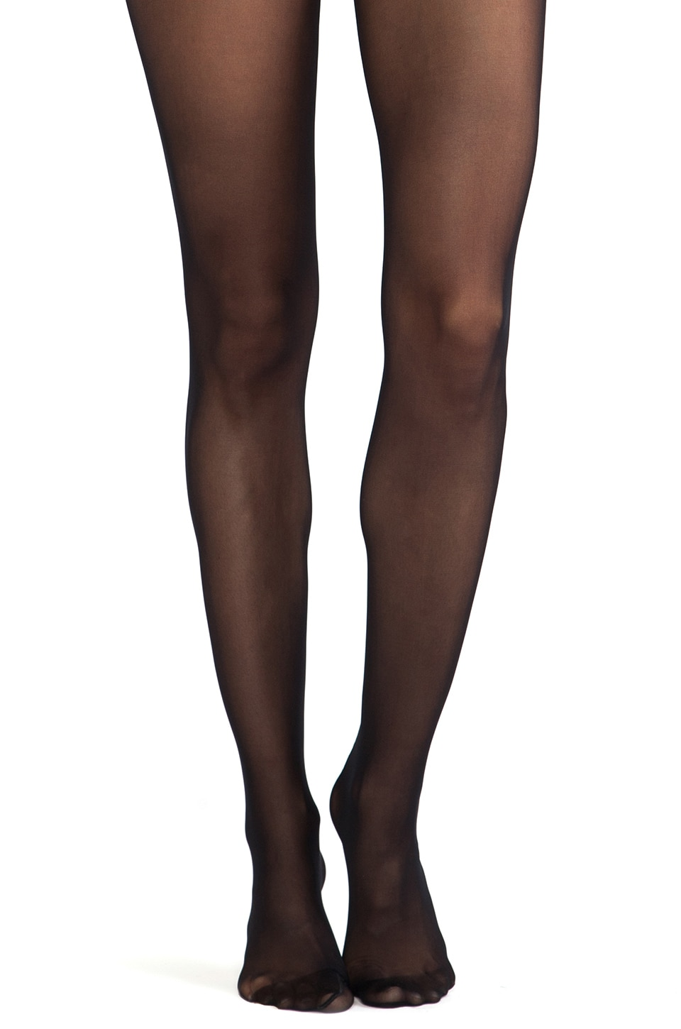 Wolford Fatal Lace 15 Seamless Tights in Black