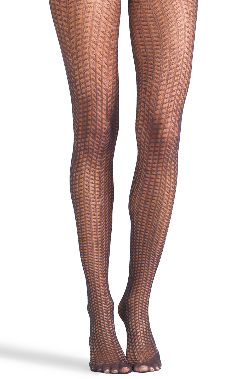 Wolford Suada Tights in Dark Indigo