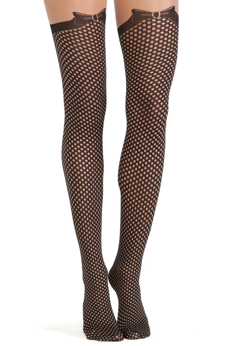 Wolford Olivia Tights in Sahara & Black