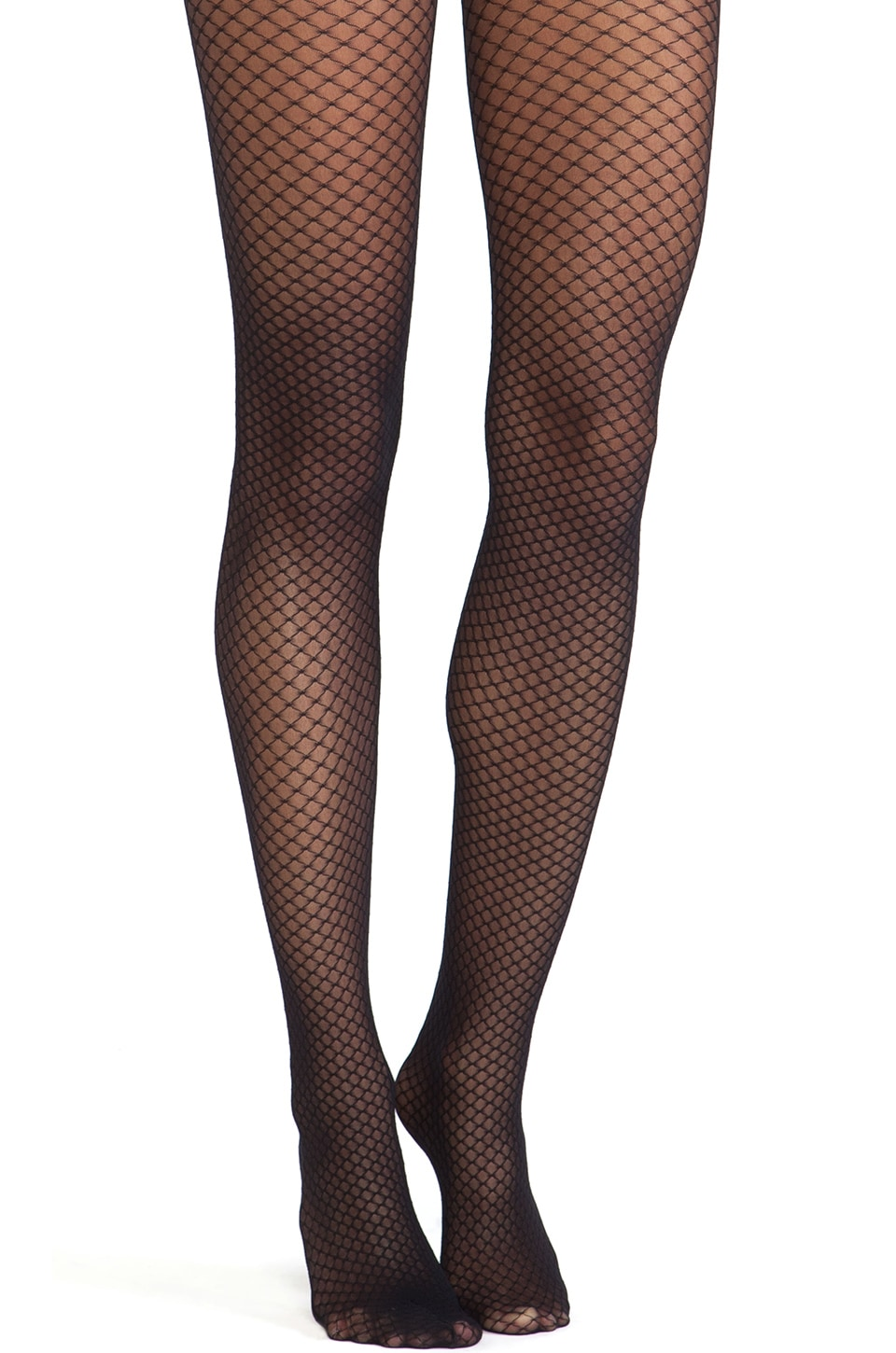 Wolford Iman Tights in Black & Black