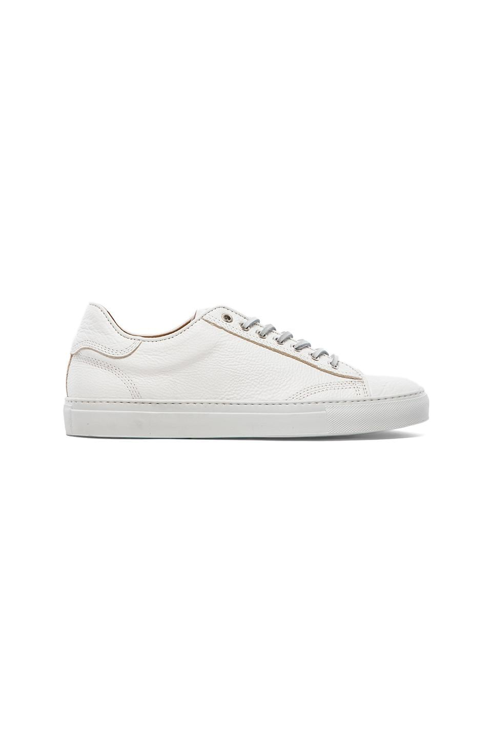 wings + horns Leather Low Top in White