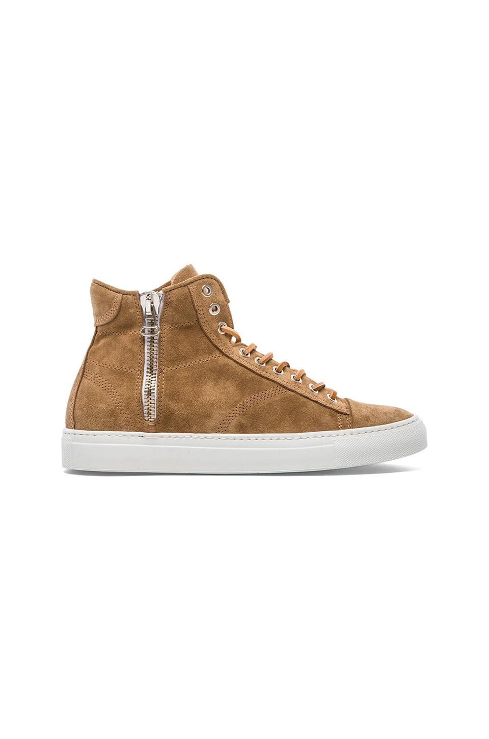 wings + horns Suede Hi-Top in Reed