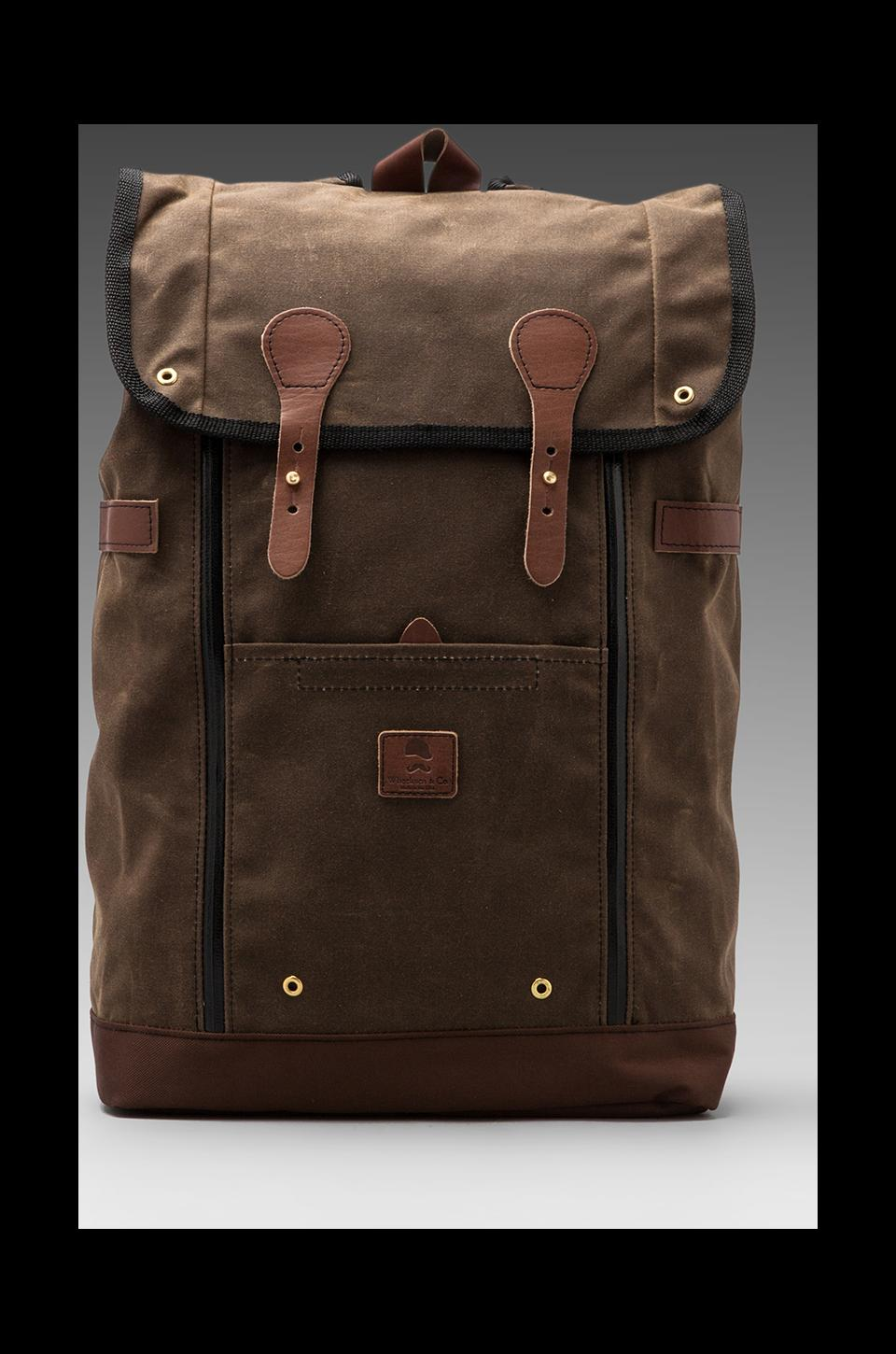 Wheelmen & Co. Babylon Backpack in Brown