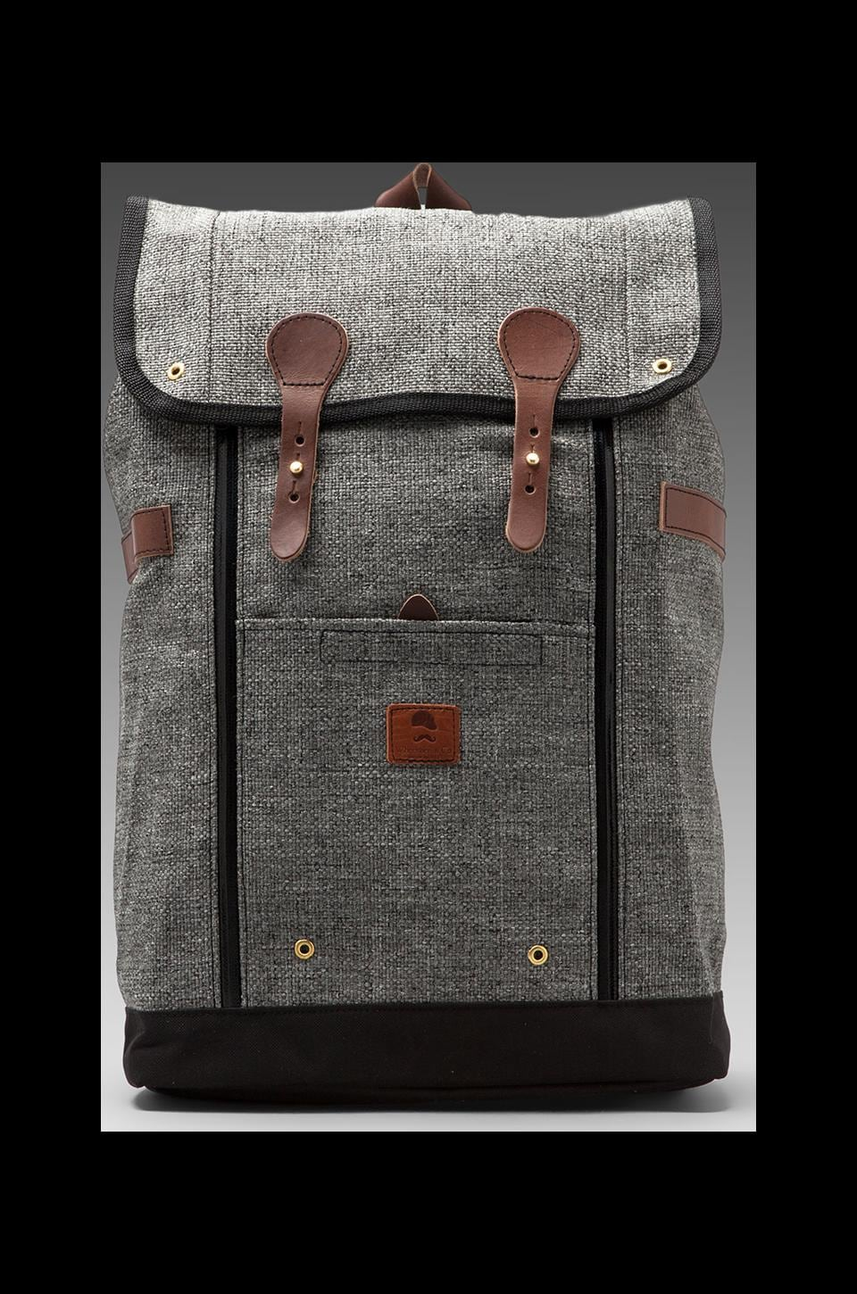 Wheelmen & Co. Babylon Backpack in Slate Dobby