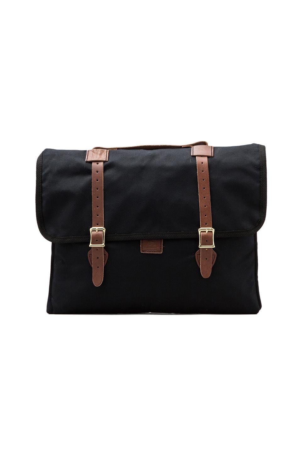 Wheelmen & Co. 15 inch E. Homes Laptop Case in Black