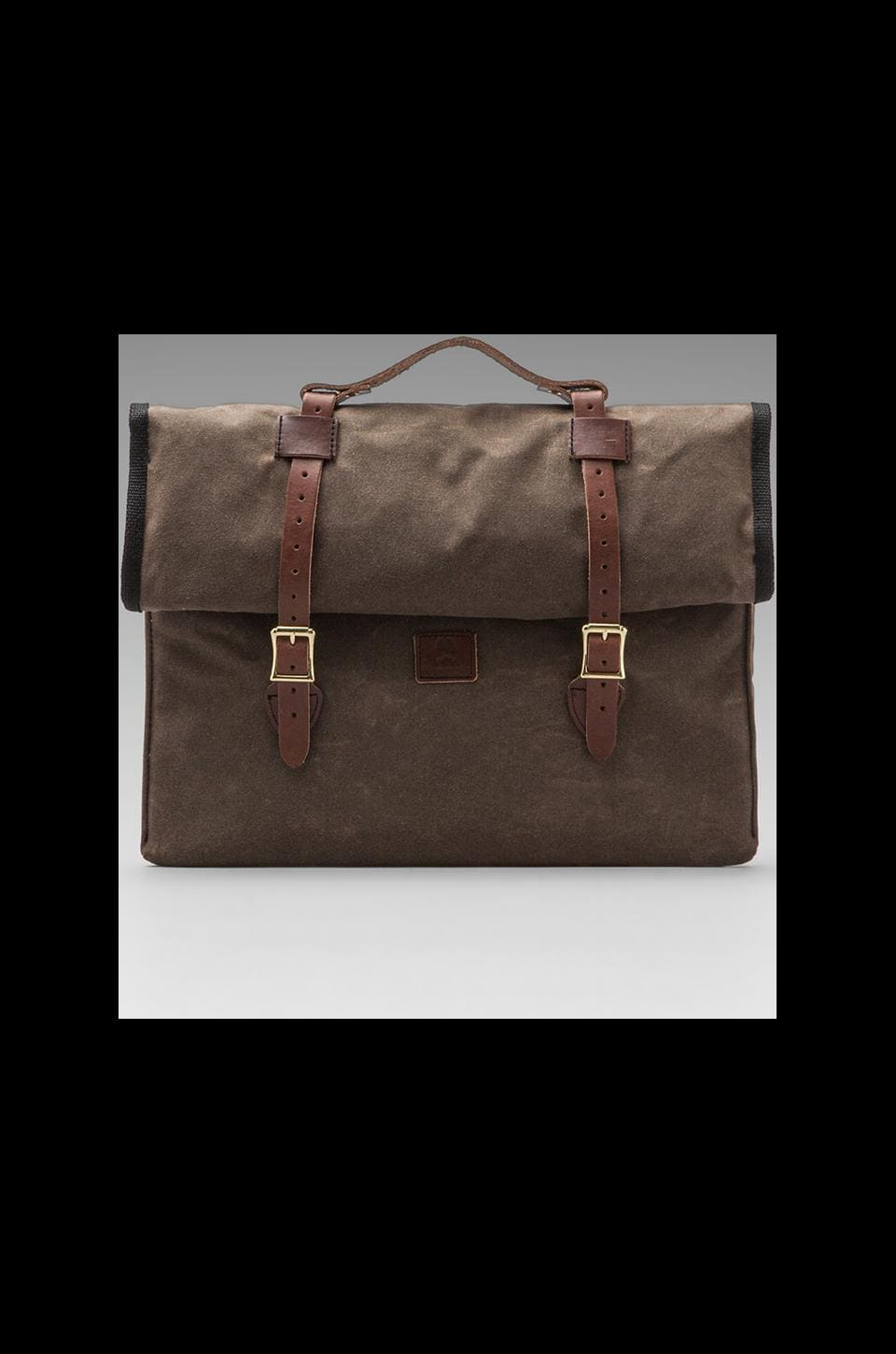 Wheelmen & Co. 15 inch E. Homes Laptop Case in Brown
