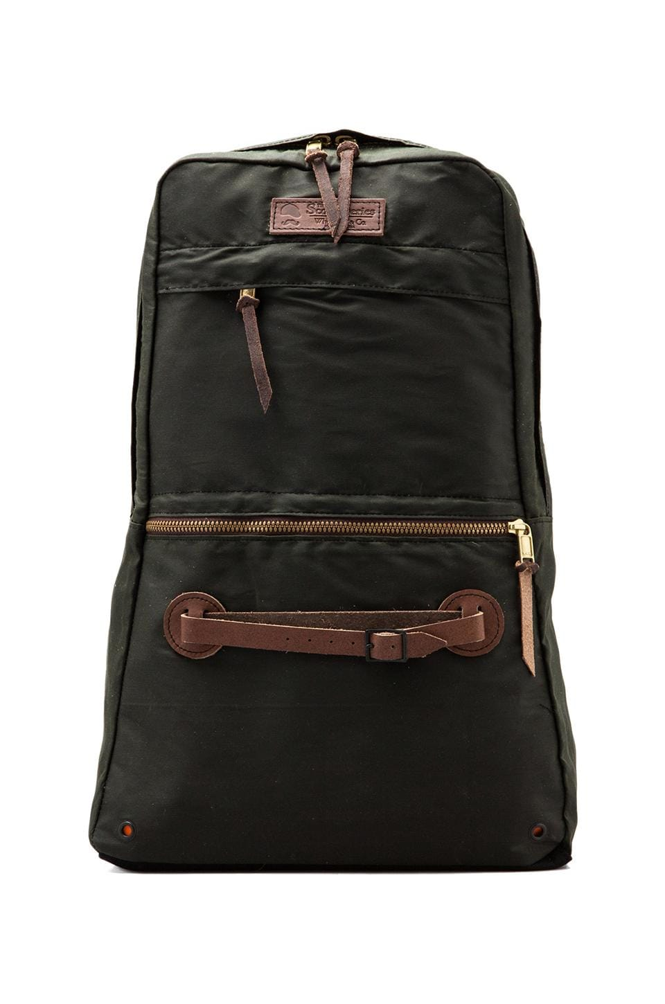 Wheelmen & Co. Scout Daypack in Military Green