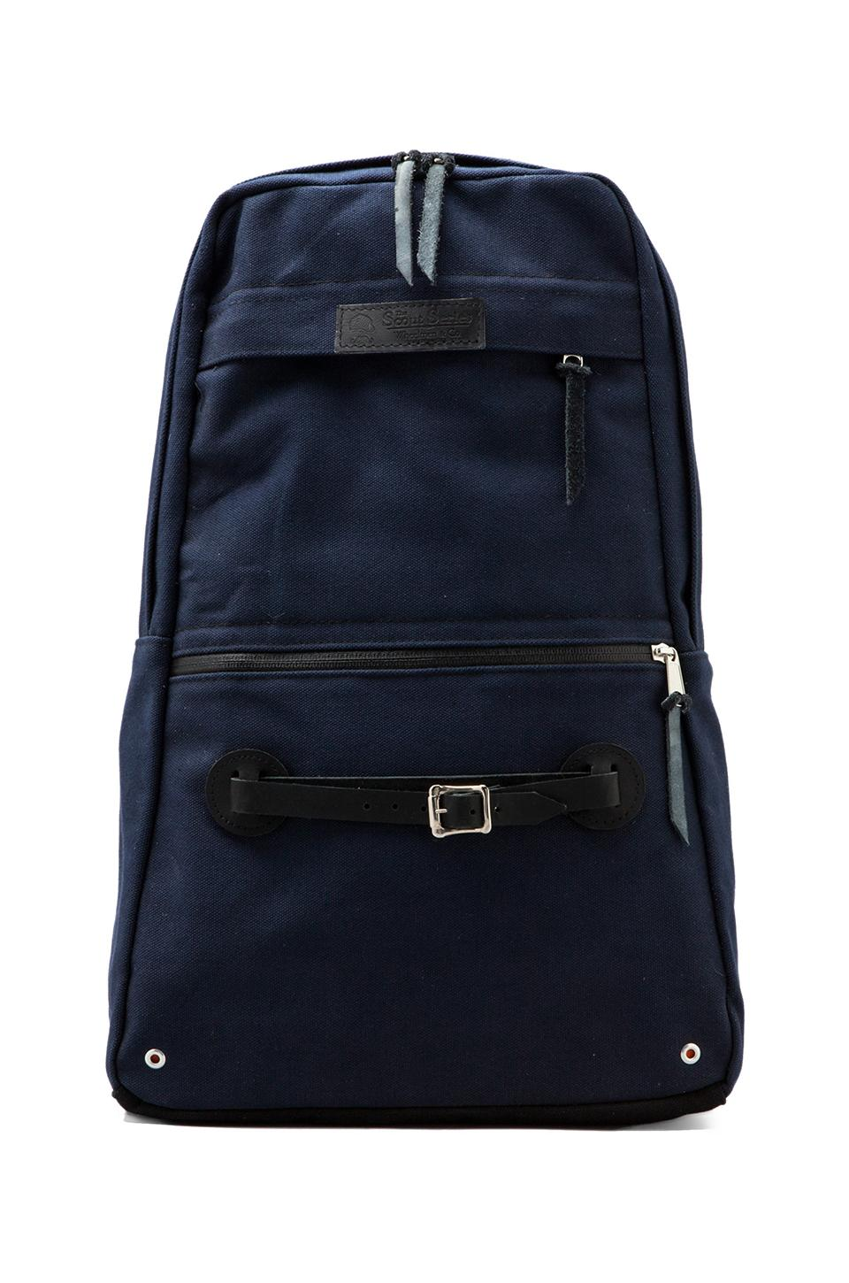Wheelmen & Co. Scout Daypack in Navy