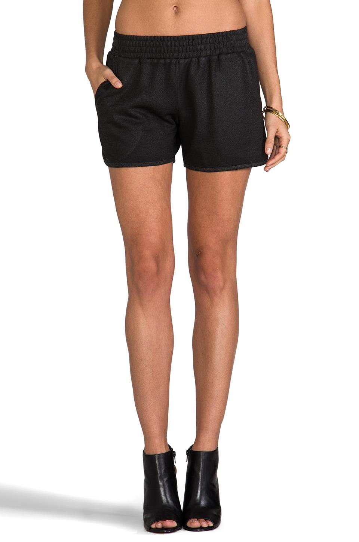 Whetherly Rita Coated Short in Black