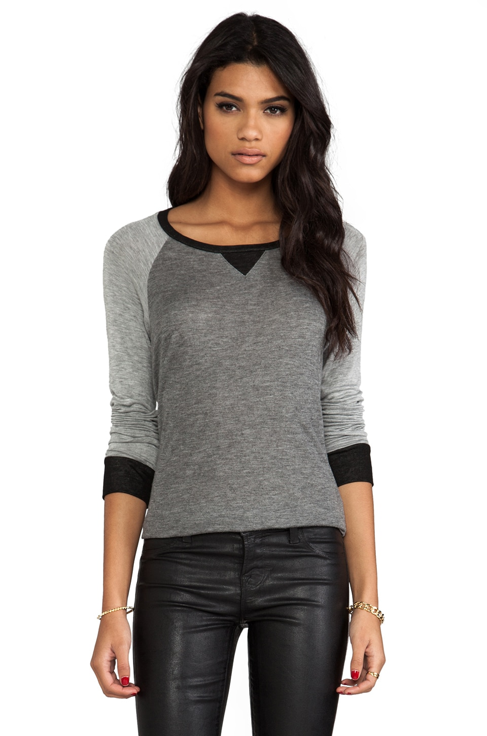 Whetherly Jaden in Charcoal & Heather & Black