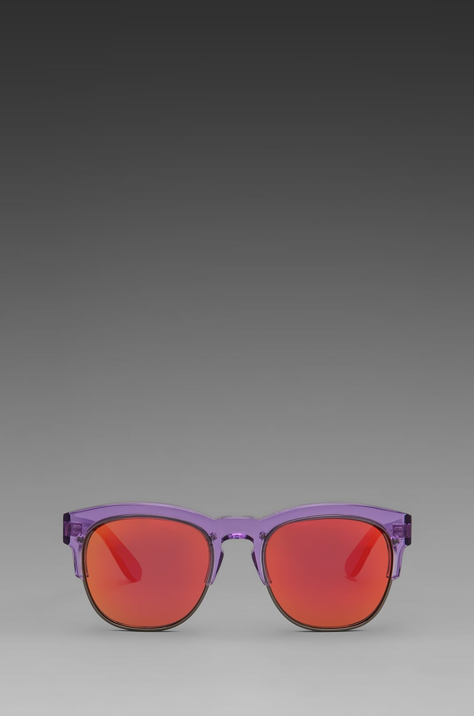 Wildfox Couture Club Fox Wayfare Sunglasses in Translucent Purple