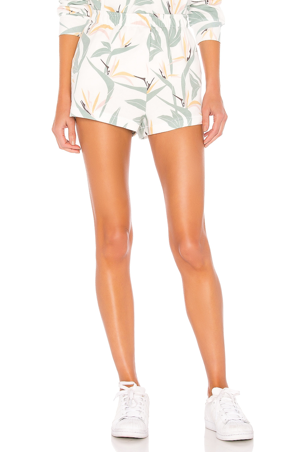 Wildfox Couture Bird Of Paradise Havi Shorts in Multi Colored