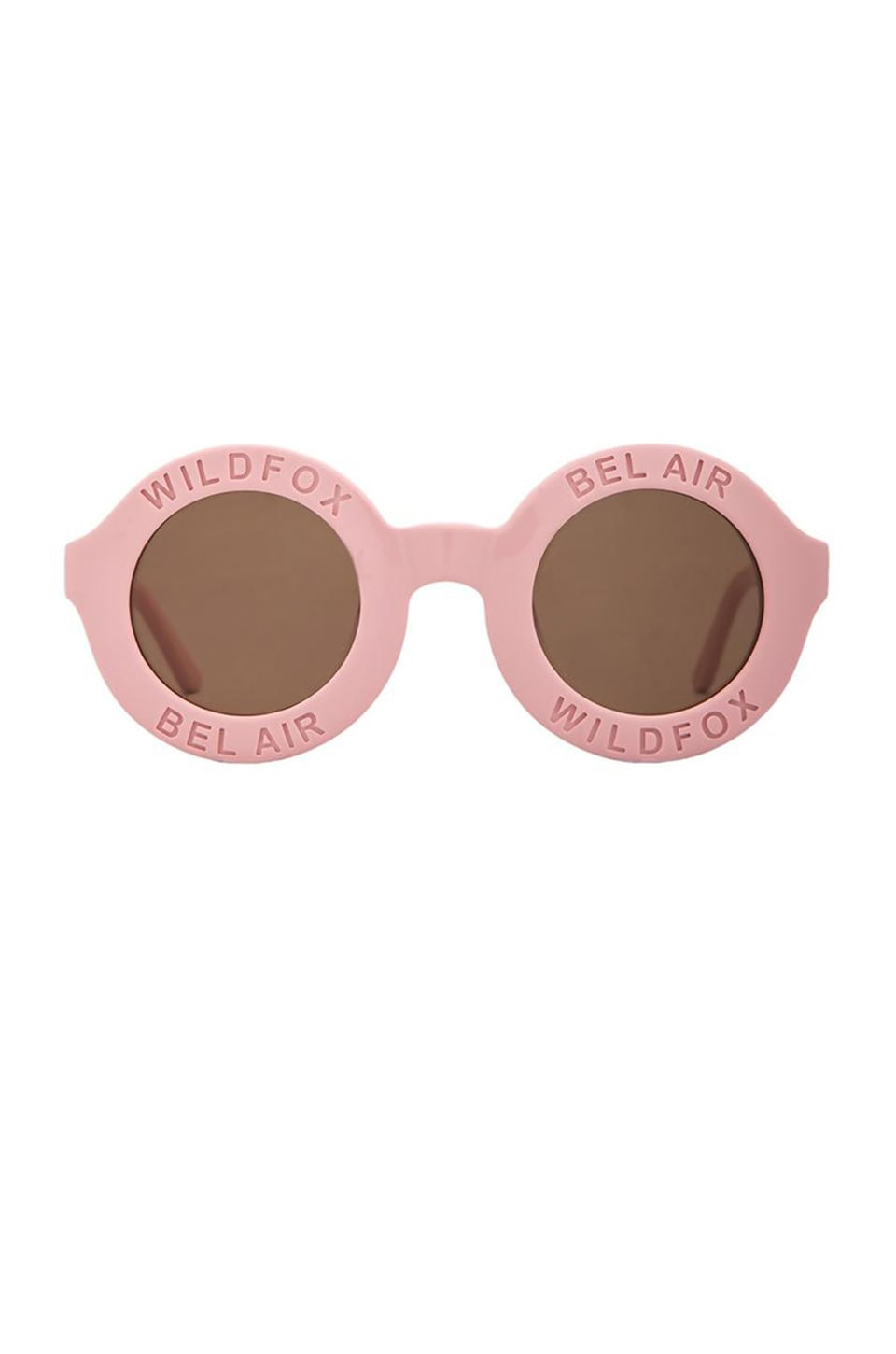 Wildfox Couture Bel Air Sunglasses in Pink & Brown