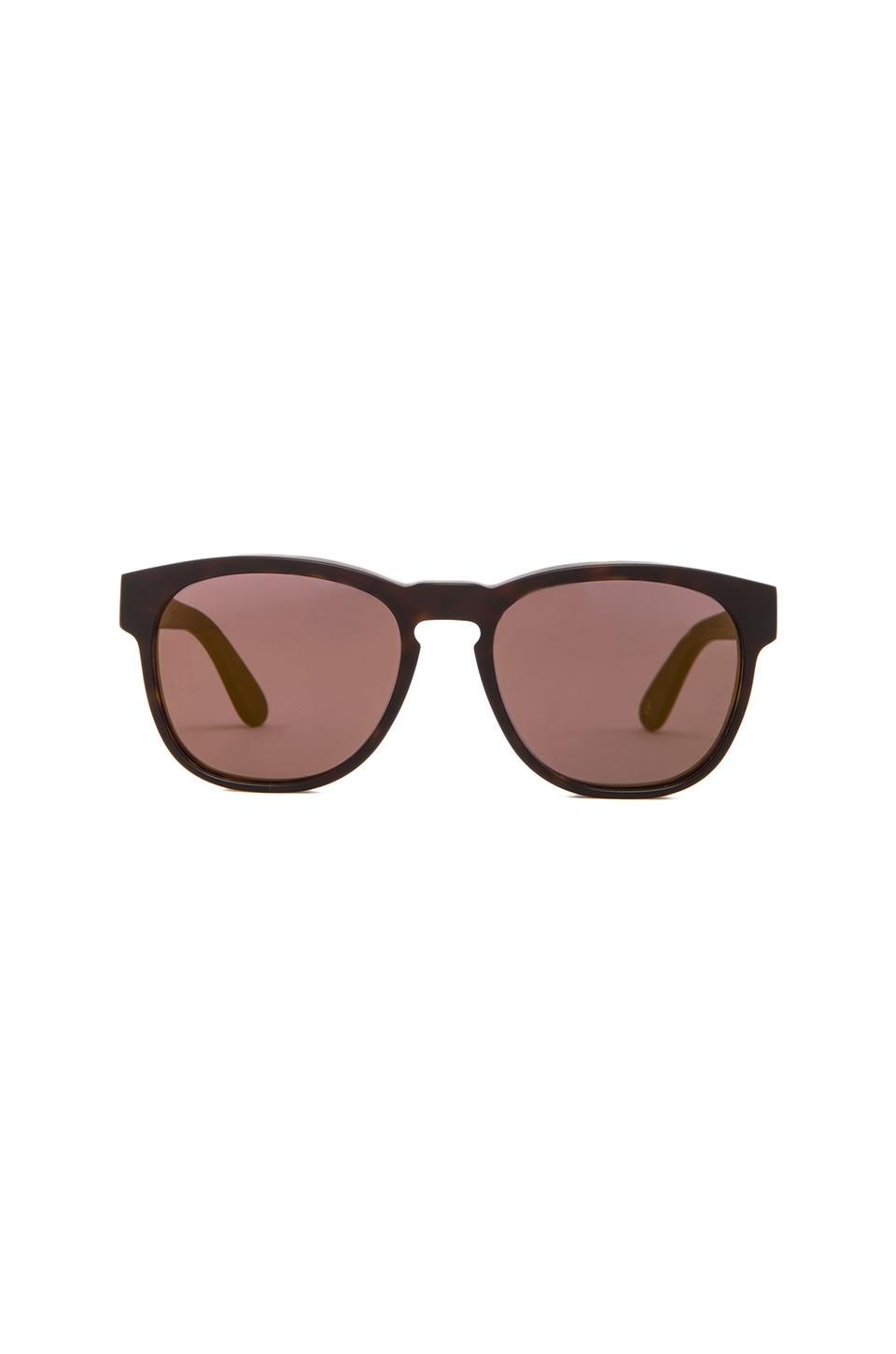 Wildfox Couture Classic Fox 2 Sunglasses in Matte Tortoise & Gold