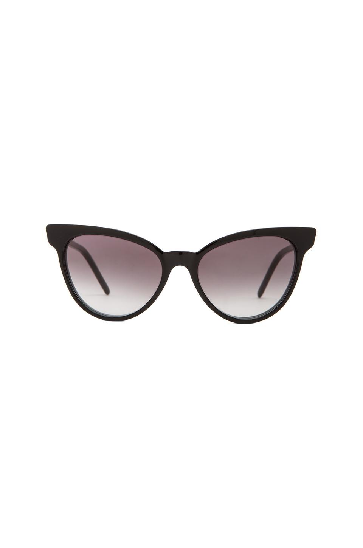 Wildfox Couture Le Femme Sunglasses in Black