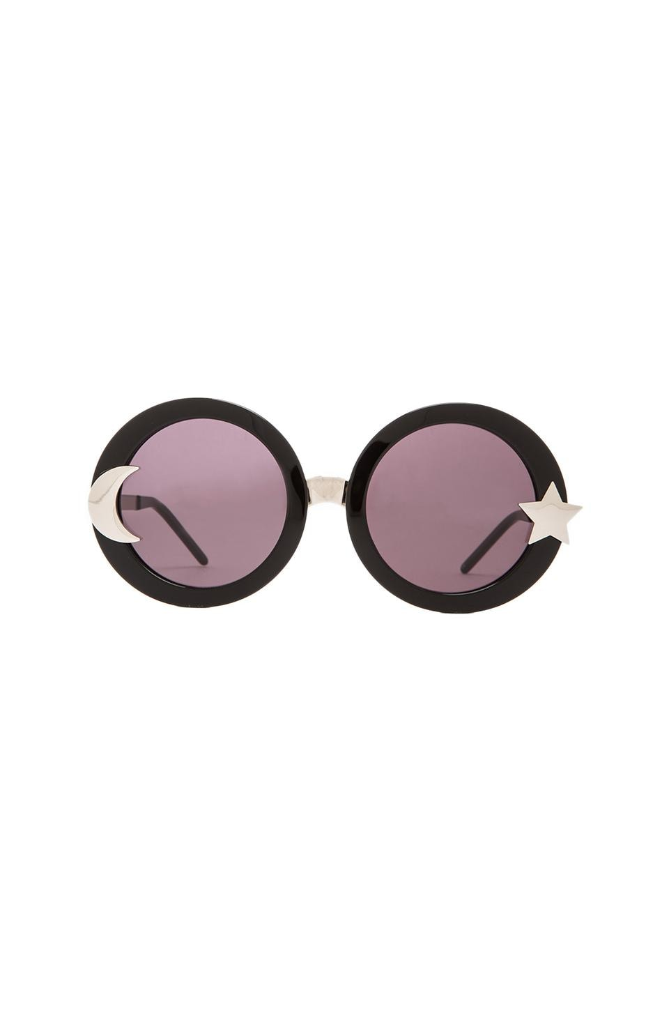 Wildfox Couture Luna Sunglasses in Black