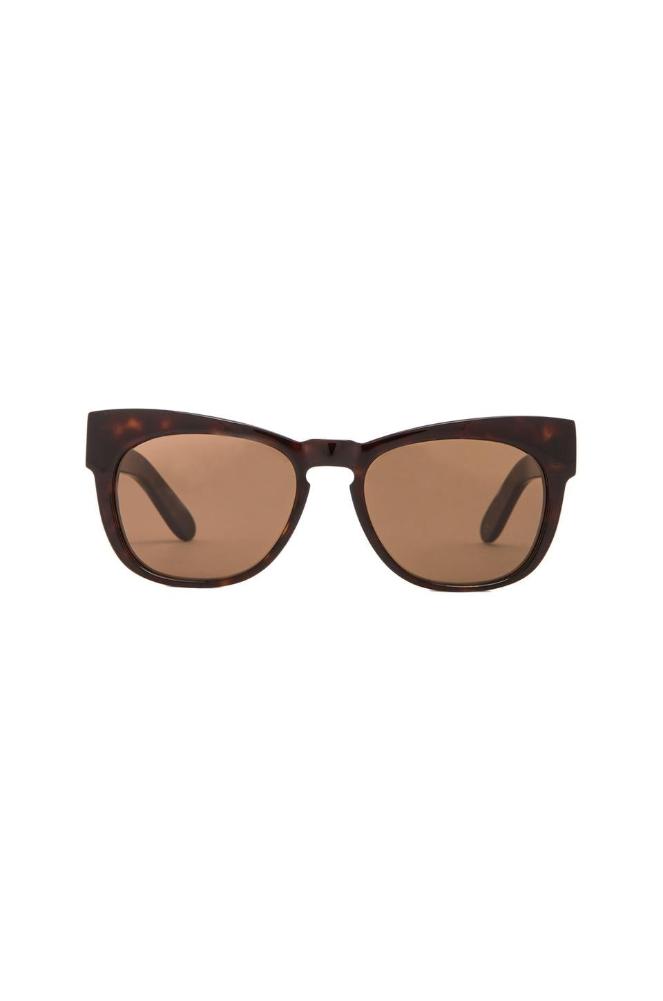 Wildfox Couture Winston Sunglasses in Tortoise