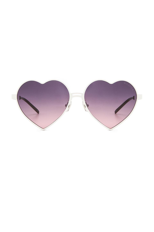 Wildfox Couture Lolita Sunglasses in White