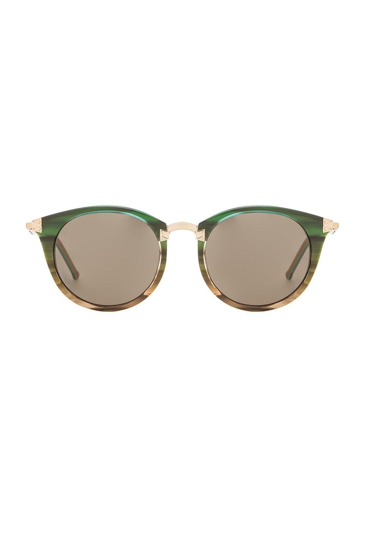 Wildfox Couture Sunset Sunglasses in Rainforest & G15 Sun