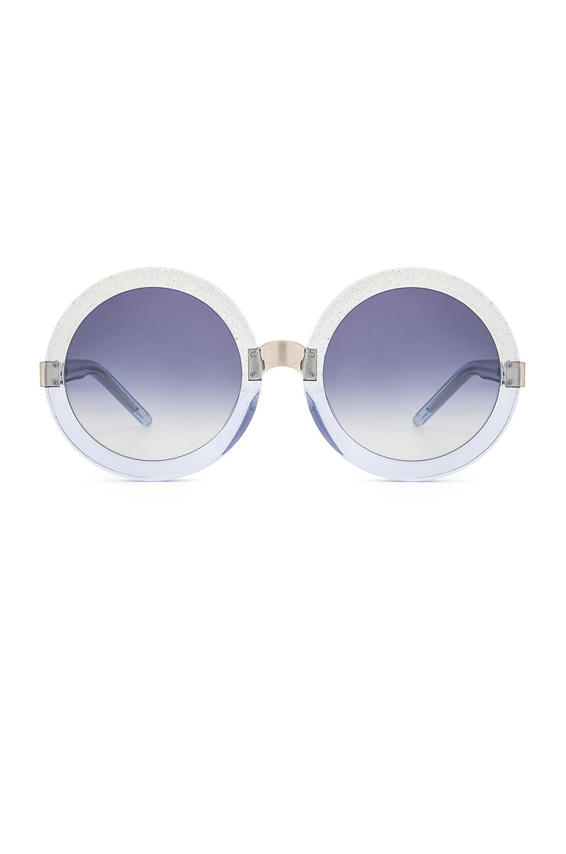 Wildfox Couture Malibu Sunglasses in Crystal Cove