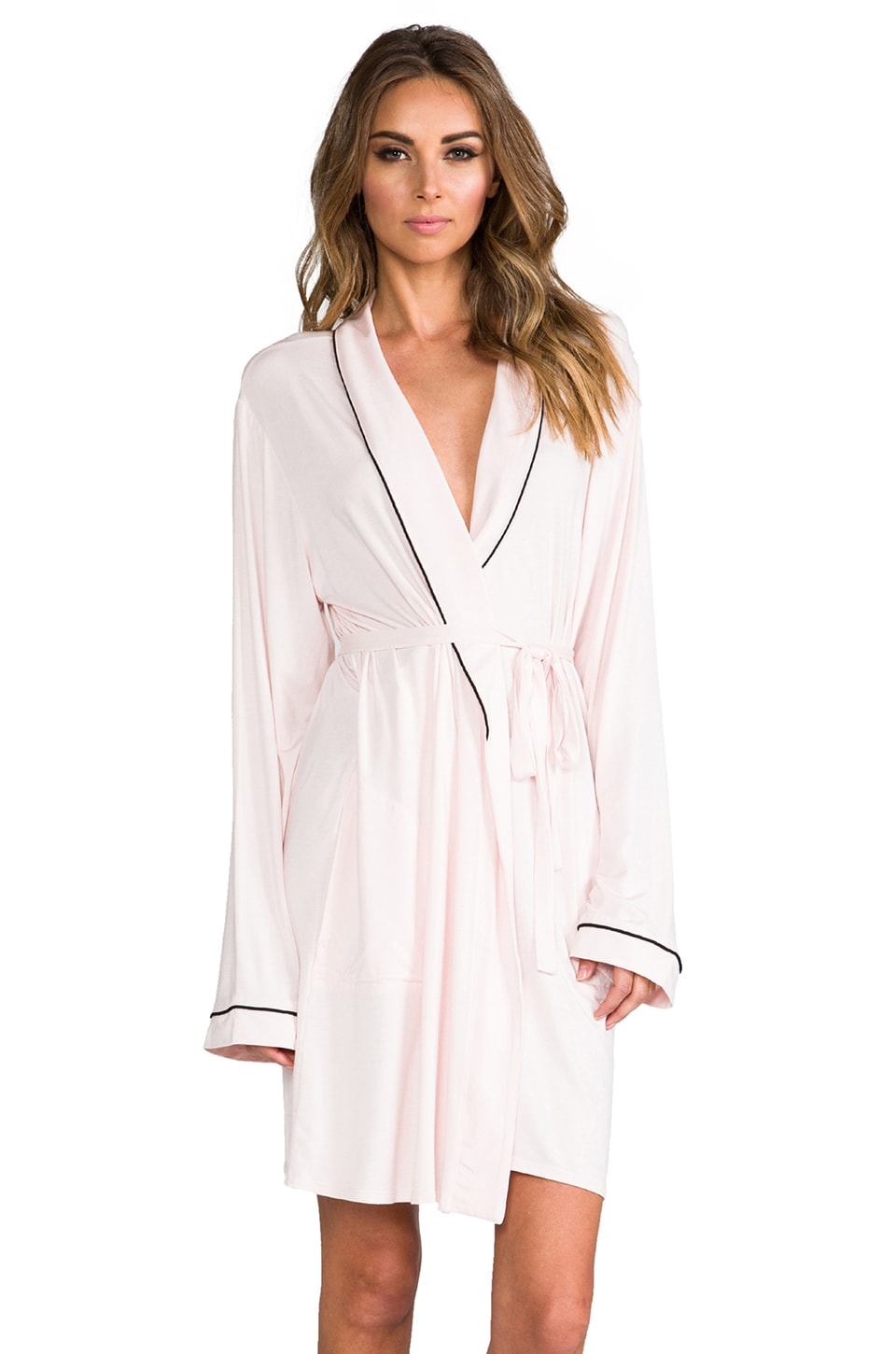 Wildfox Couture Never Get Dressed Robe in Pink