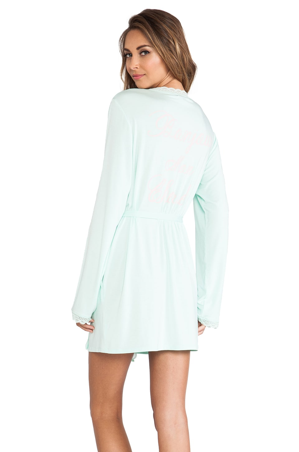 Wildfox Couture Mon Cherie Robe in Heavenly Blue