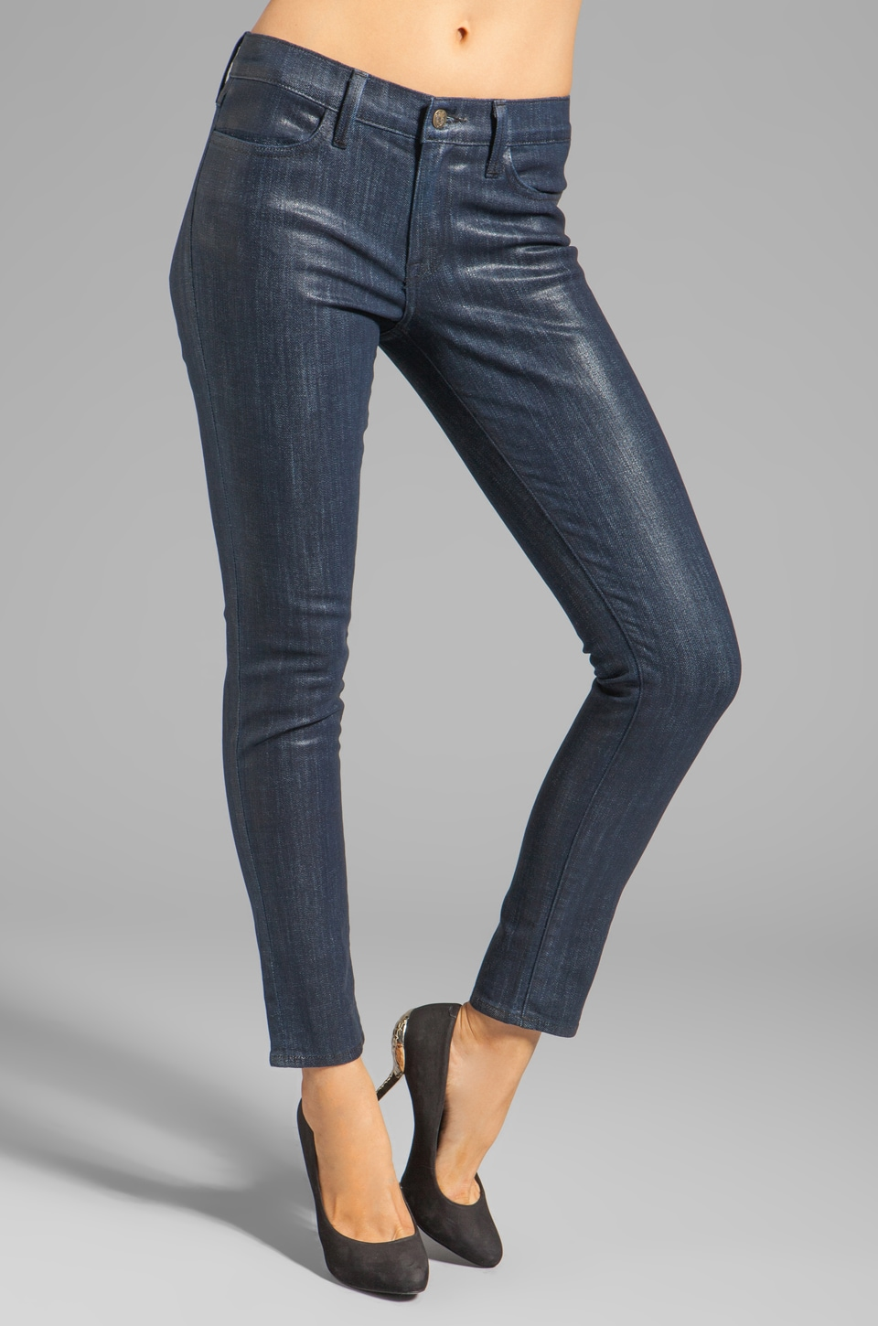 Wildfox Couture Marianne Mid-Rise Skinny in Midnight