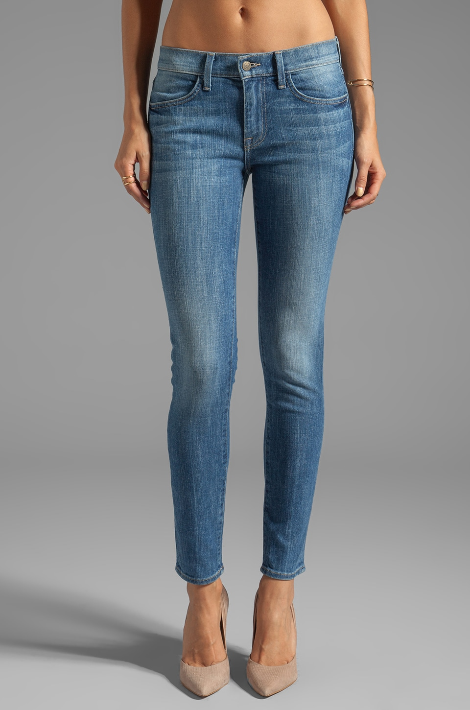Wildfox Couture Marianne Mid-Rise Skinny in Spellbound