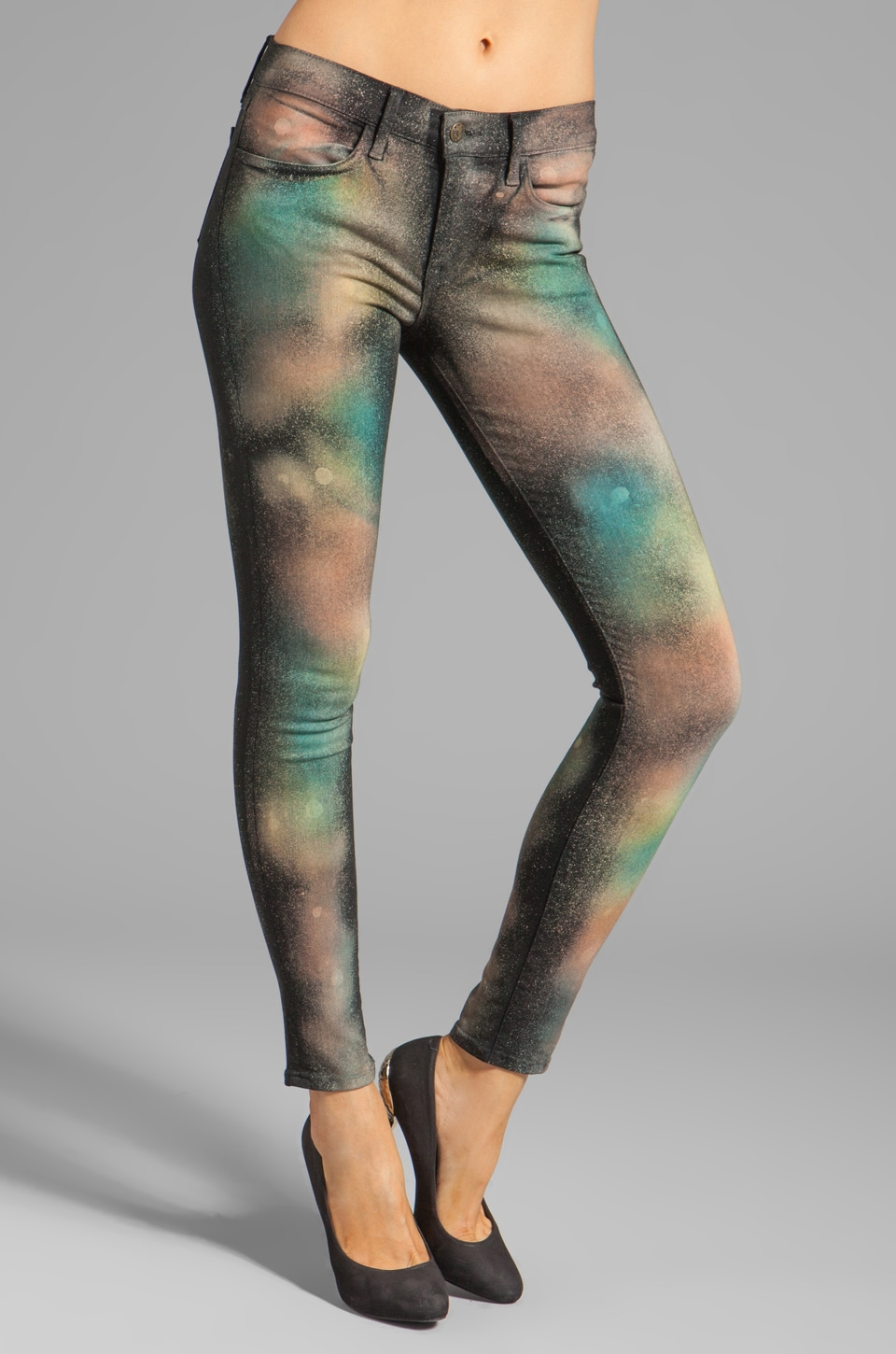 Wildfox Couture Marianne Mid-Rise Skinny in Celestial