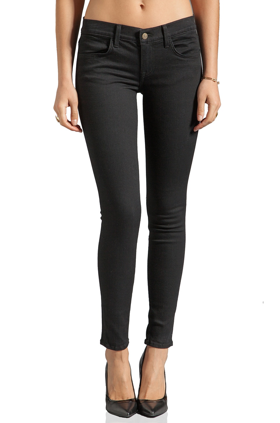 Wildfox Couture Carmen Low-Rise Skinny in Air Kiss