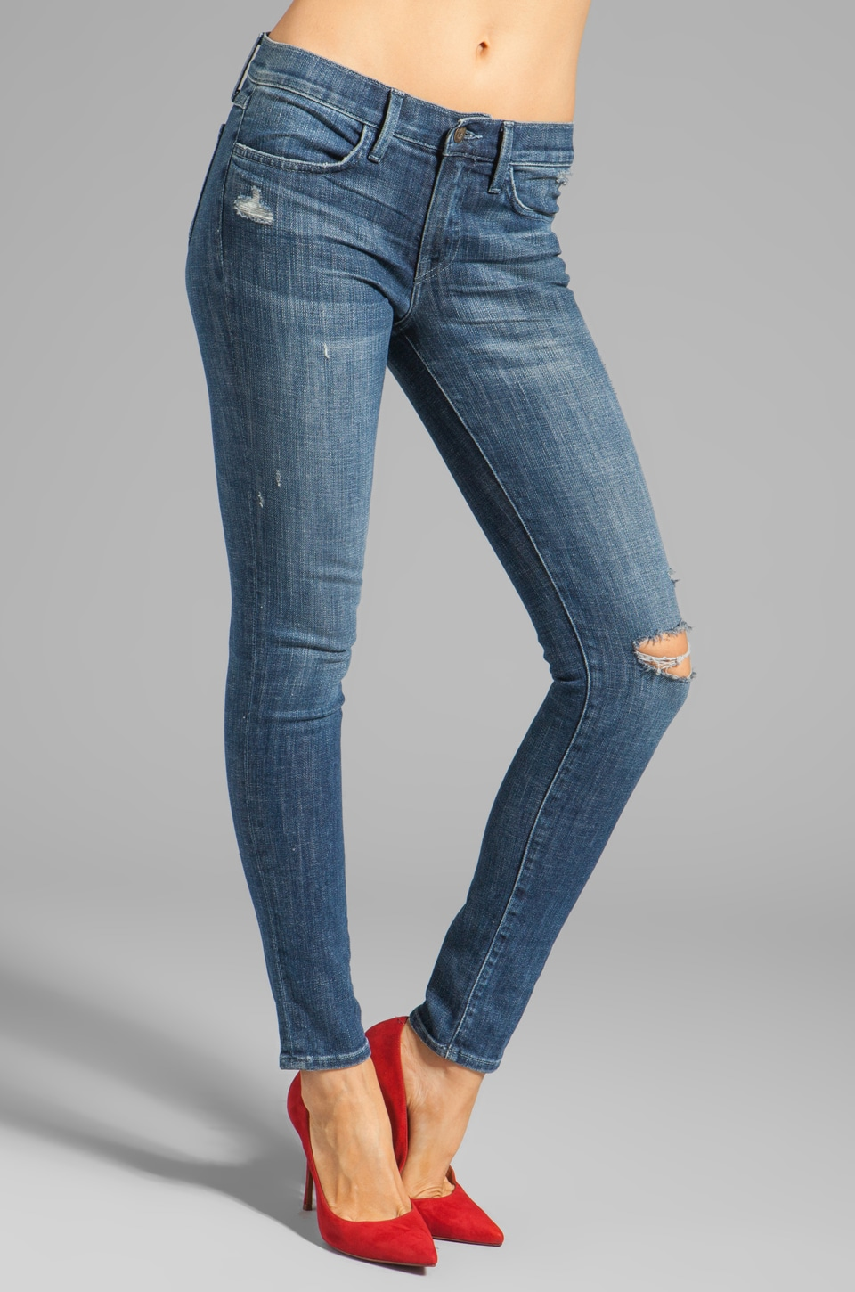 Wildfox Couture Marianne Mid-Rise Skinny in Euphoria
