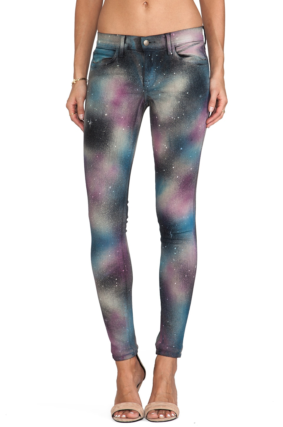Wildfox Couture Marianne Mid Rise Skinny in Heaven