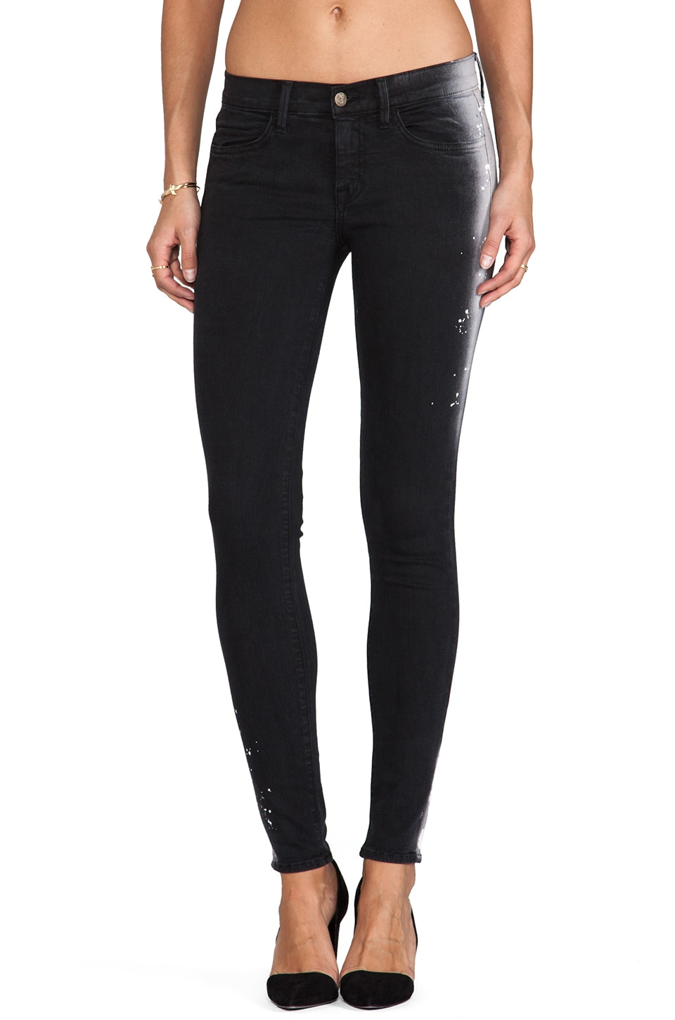 Wildfox Couture Marianne Mid Rise Skinny in Ambition