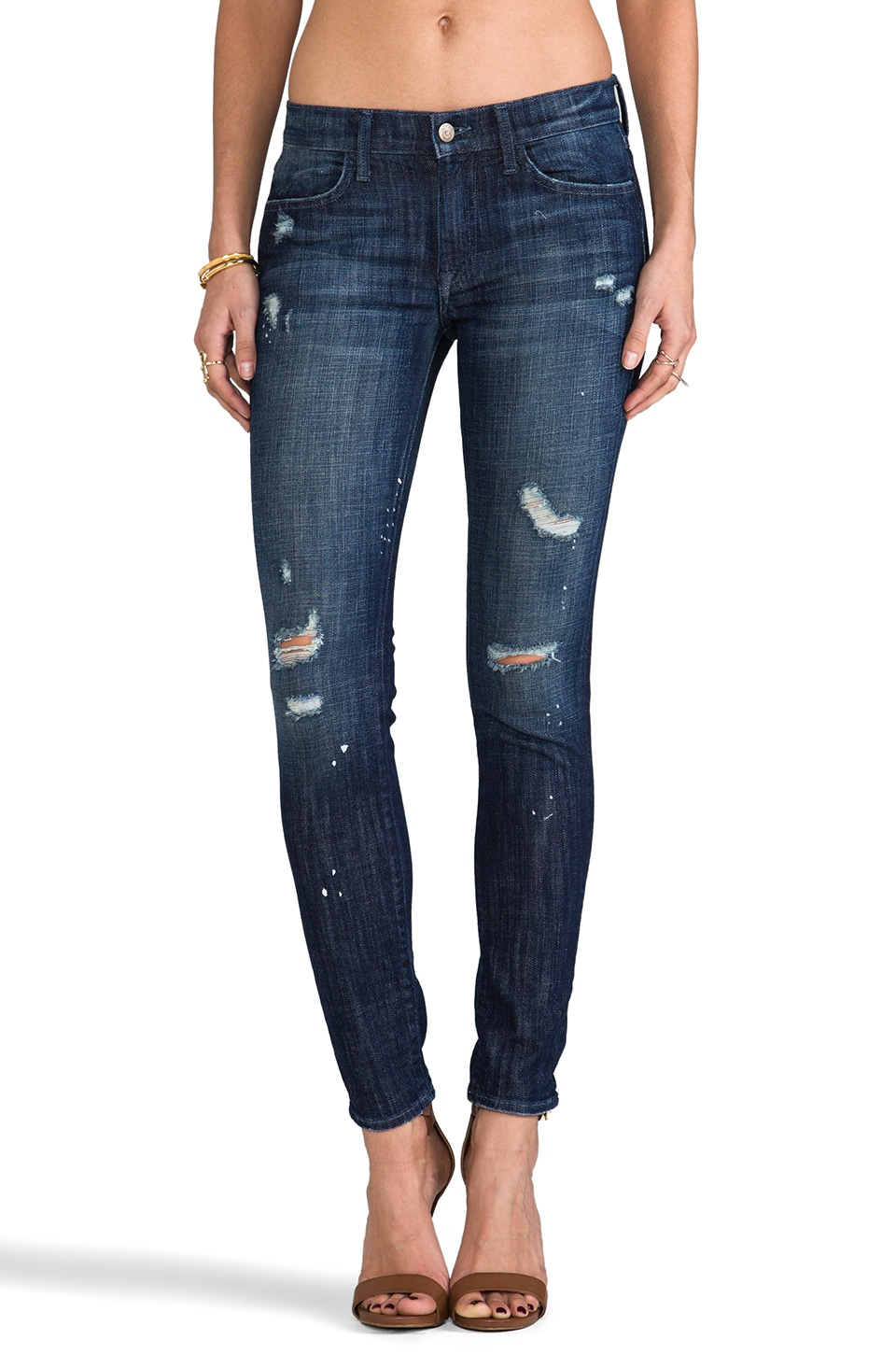 Wildfox Couture Marianne Mid Rise Skinny in Star Gazer