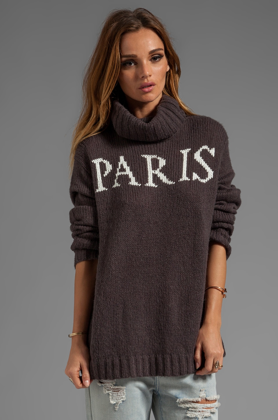 Wildfox Couture White Label Paris Is Home Seatle Sweater in NYC