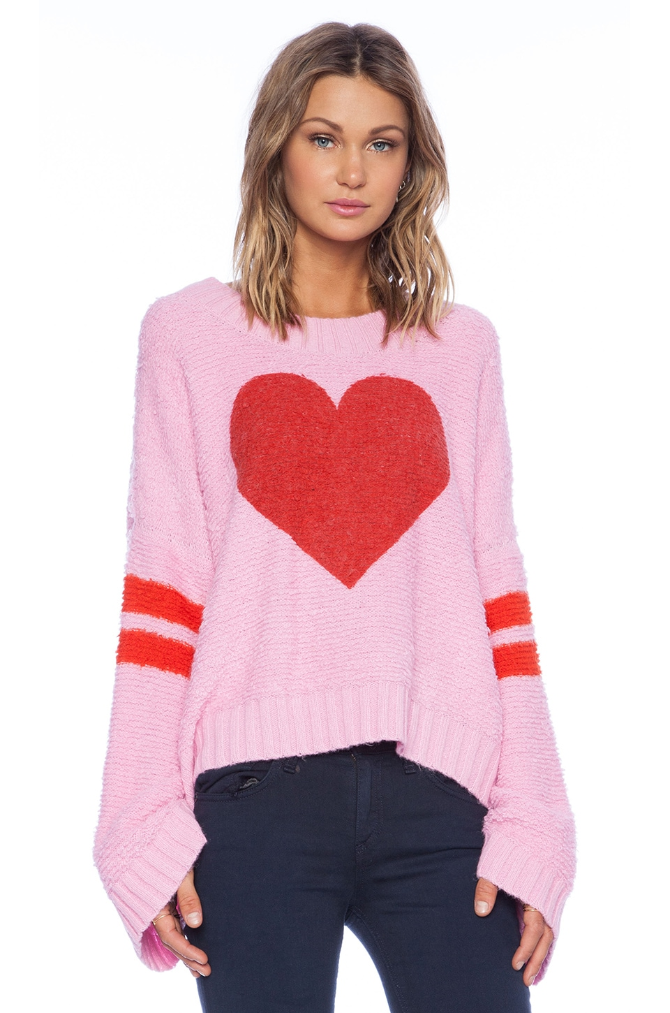 Wildfox Couture Brave Heart Pullover in Dream House