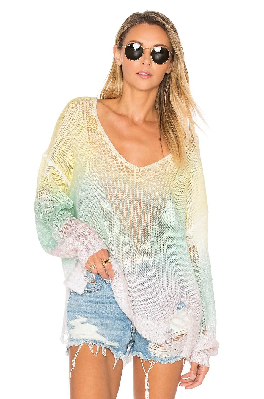 Wildfox Couture Sundown Cheryl Sweater in Multi