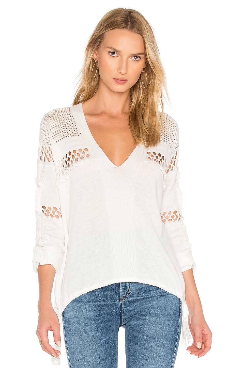 Wildfox Couture Sold Sweater in Clean White