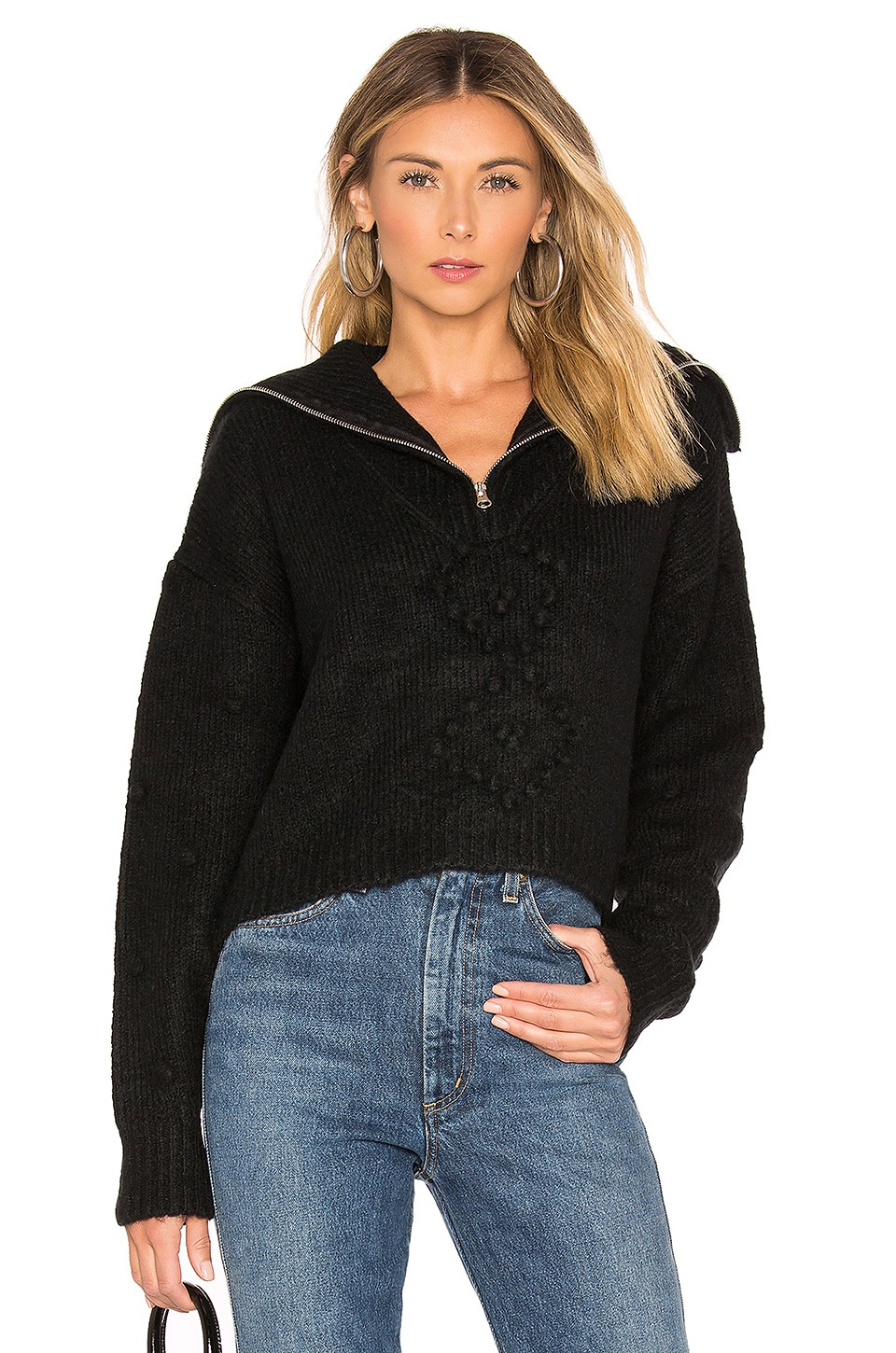 Wildfox Couture Sceptor Sweater in Black