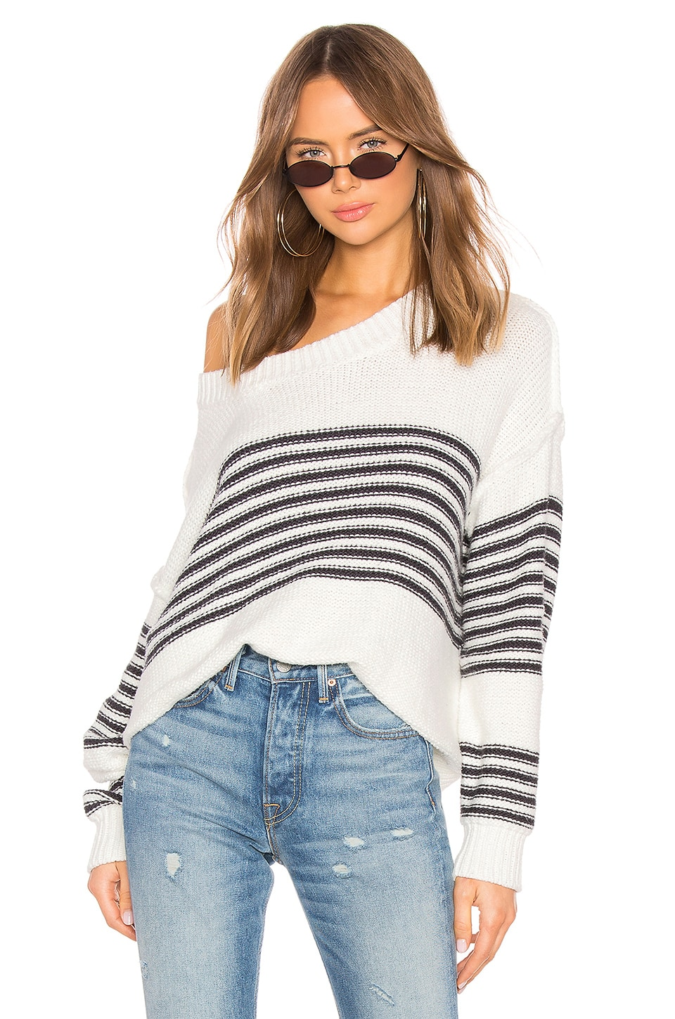 Wildfox Couture Knox Sweater in Vanilla
