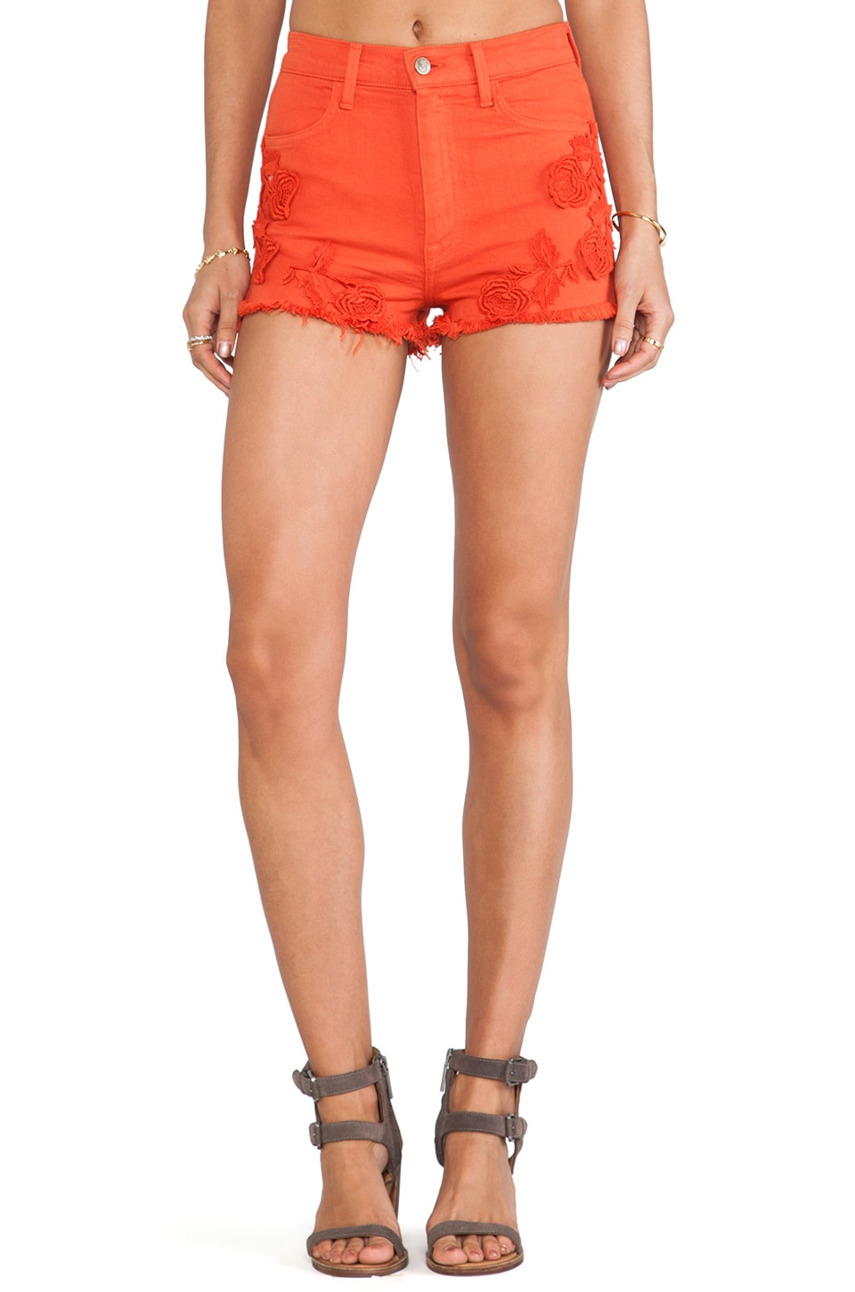 Wildfox Couture Helena Cut Off Short in Valentine