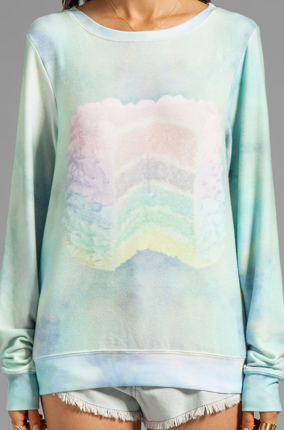 Wildfox Couture Dreaming of Pullover Cake in Multi