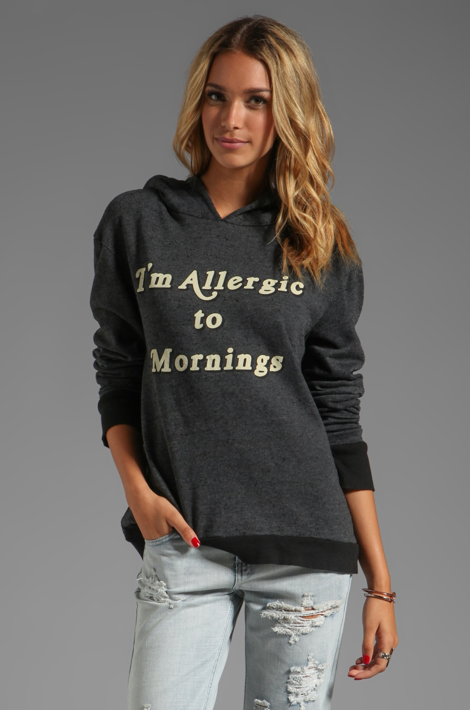 Wildfox Couture Morning Allergies in Clean Black