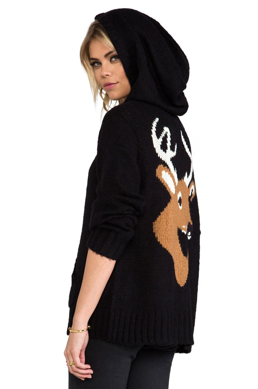 Wildfox Couture Dear Cabin Hoodie in Clean Black