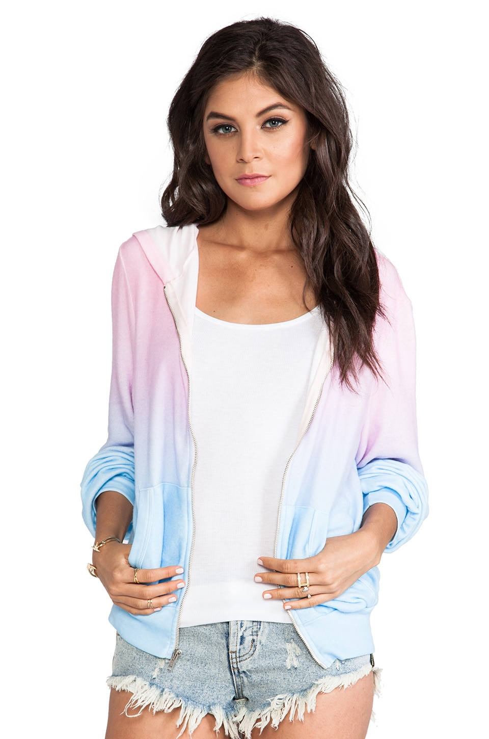 Wildfox Couture I am the Ocean Daydream Hoodie in Multi